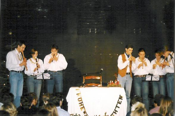Blockflötenchor Stille Nacht